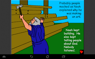 Screenshot of Bible Book For Children