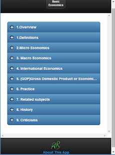 Basic Economics screenshot for Android