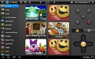 Screenshot of Peel Smart Remote (Europe)