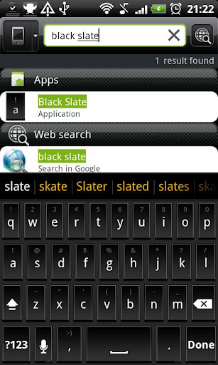 Black Slate - Keyboard Theme