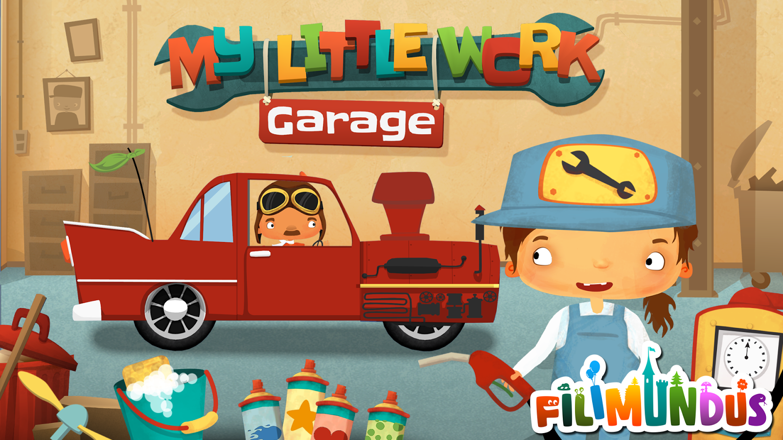 My Little Work – Garage Screenshot 0