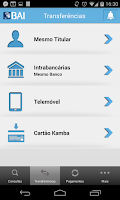 Screenshot of BAI Mobile Banking