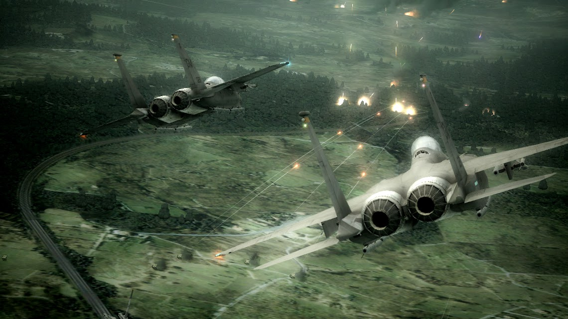 E3 Ace Combat Six demo hitting Live