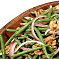 Green Beans and Walnut Salad