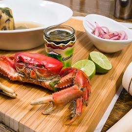 Ecuadorean Crab by Gary Wise - Food & Drink Plated Food