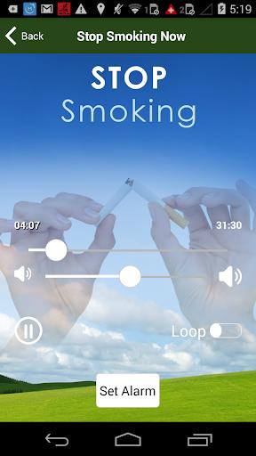 Stop Smoking Hypnotherapy - screenshot