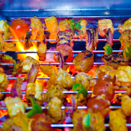 Barbeque delights by Sumesh Makhija - Food & Drink Cooking & Baking ( abstract, food, barbeque )