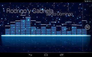 Screenshot of Audio Glow Live Wallpaper
