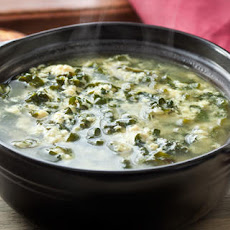 Kale and Parmesan Egg Drop Soup (Stracciatella)
