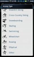 Screenshot of OSM Route Tracker
