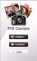 Screenshot of POI CAMERA