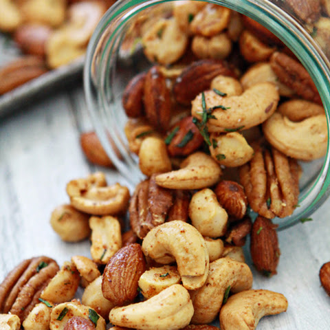 Sweet and spicy rosemary nuts recipes yummly for Food52 bar nuts