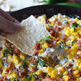 Cheesy Bacon Jalapeno Corn Dip