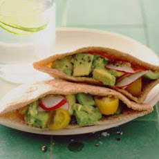 Spiced Avocado Sandwich