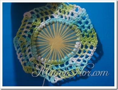 Tejidos a Crochet: Tapete Con Tela e Hilo…