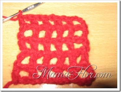 Puntos a Crochet: Punto Red…