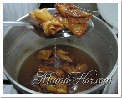 Repostería: Corbatas Chinas Con miel…