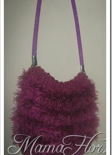 Cartera Tejida a Crochet: Bolsa Plumosa, paso a paso