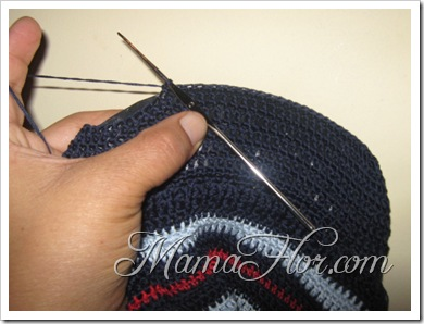 Tejidos a Crochet: Gorro con viscera…