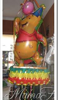 Cotillón: Piñata de Winnie Pooh…