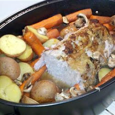 Pork Butt Roast with Vegetables