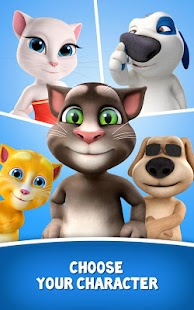 Free Talking Tom for Messenger APK for Windows 8