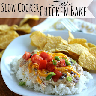 Slow Cooker Fiesta Chicken Bake