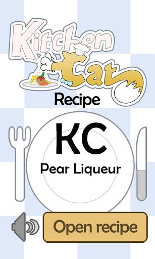 KC Pear Liqueur