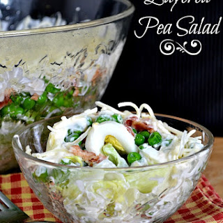Layered Pea Salad