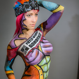 | Body Art Paint | by Photo Jovan - Nudes & Boudoir Artistic Nude ( studio, body, vienna, person, nippels, girll, tattoo, women, people, austria, bodypint )