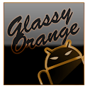 GOKeyboard Theme Glassy Orange icon