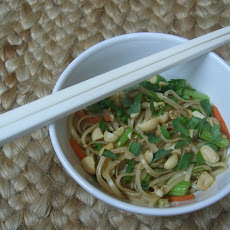 Sesame Noodles with Thai Basil