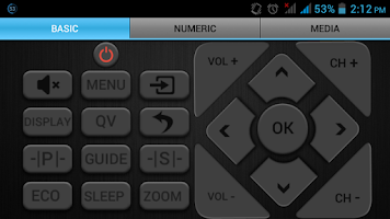 Screenshot of VIDEOCON IR - UNIVERSAL REMOTE