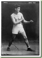 Photograph of boxer, Harry Tracy