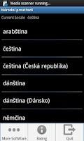Screenshot of Set Locale and Language
