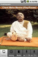 Screenshot of Prabhupada