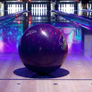 Cover art Cosmic Bowling