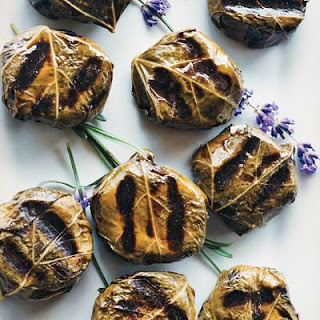 Goat-Cheese-Stuffed Grape Leaves