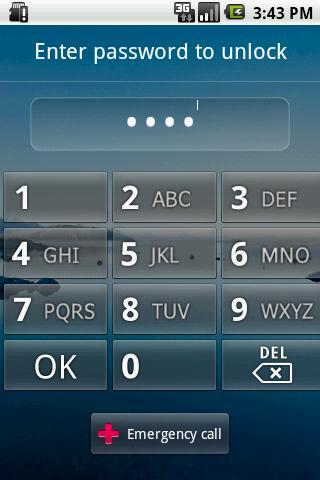 F鎖定屏幕