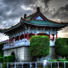 Pagoda by Jose German - Buildings & Architecture Other Exteriors ( hdr, pagoda, taiwan, buildings, built )
