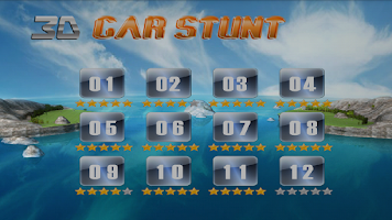 Screenshot of 3D Car Stunt Free