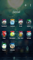 Screenshot of Magic Shop GO Launcher Theme