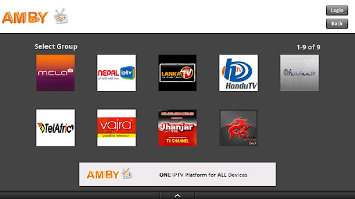 AmbyTV Android Tablets