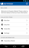 Screenshot of Kingston Waste
