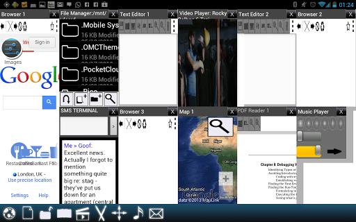 Split View Multi Screen Tablet - screenshot