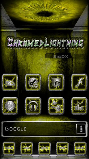 Chromed Lightning Multi Yellow