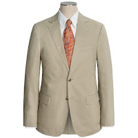 Flynt Solid Cotton Suit (For Men)