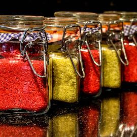 Coloured sand by Garry Chisholm - Artistic Objects Other Objects ( colour, garry chisholm, sand, glass, jars )