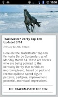Screenshot of TrackMaster Blog