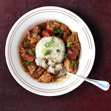 Chicken and Andouille Étouffée